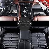 Sedeta 5pcs Universal Car Auto Floor Mats FloorLiner Front Rear Carpet cleaner All Weather Mat