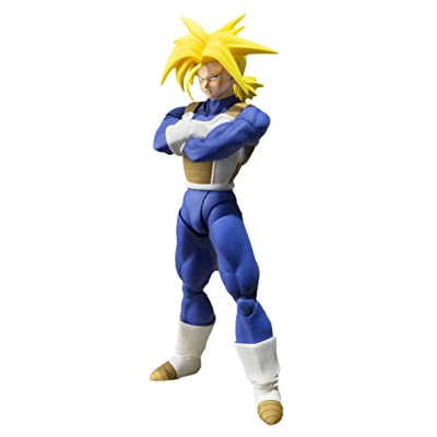 TAMASHII NATIONS Bandai Super Saiyan Trunks (Cell Saga Version) Dragon Ball Z Action Figure: Toys & Games