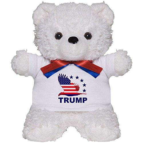 American Flag Teddy Bear T-shirt (CafePress - Trump For America - Teddy Bear, Plush Stuffed Animal)