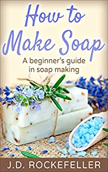 how to make soap book