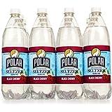 Polar Seltzer 33.8 Fl. Oz, (Pack of 12) (Black Cherry)