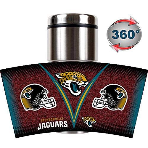 NFL Jacksonville Jaguars Stainless Steel Gameball Travel Tumbler, - Jaguars Tumbler Travel Jacksonville