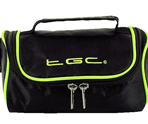 para with Green Mujer Negro al Black Trims Jet Trims With Jet Black TGC Bolso Hombro Red Crimson Electric taw84xCq