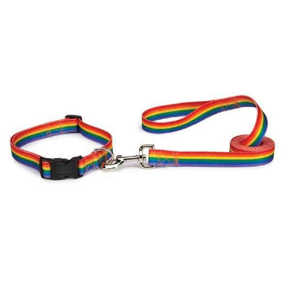 Puppy Pride Dog Collar & Lead Sets Support The Movement With Rainbow Pet Gear