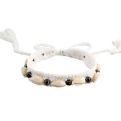 Elegante cadena! Longra Mujeres Encanto Collar de Concha Natural ...