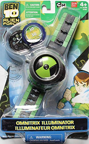 OUYAWEI BEN10 Style Kids Projector Watch + ()