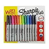Sharpie Permanent Markers, Fine Point, Assorted Colors, By Lita's shop by Lita's shop