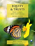 img - for Equity & Trusts: Text, Cases, and Materials, 2nd Ed. book / textbook / text book