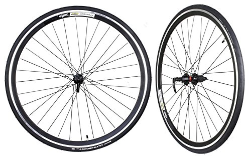 WTB Freedom Tunnel Top Road Wheelset with Continental Ultrasport Tire 700 x 23C by WTB