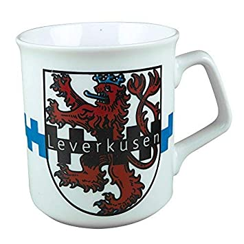 Tasse Kaffeebecher Keramiktasse Kaffeetasse mit Print Leverkusen 57559