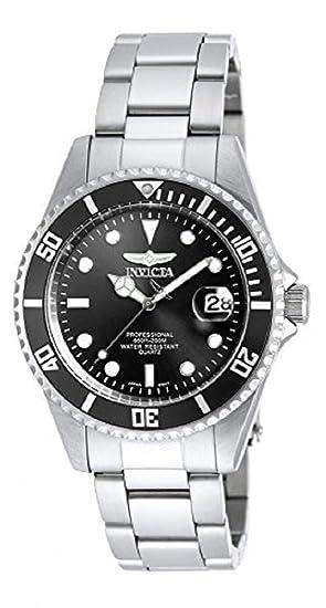 Invicta 8932OB Pro Diver Reloj Unisex acero inoxidable Cuarzo Esfera negro: Invicta: Amazon.es: Relojes