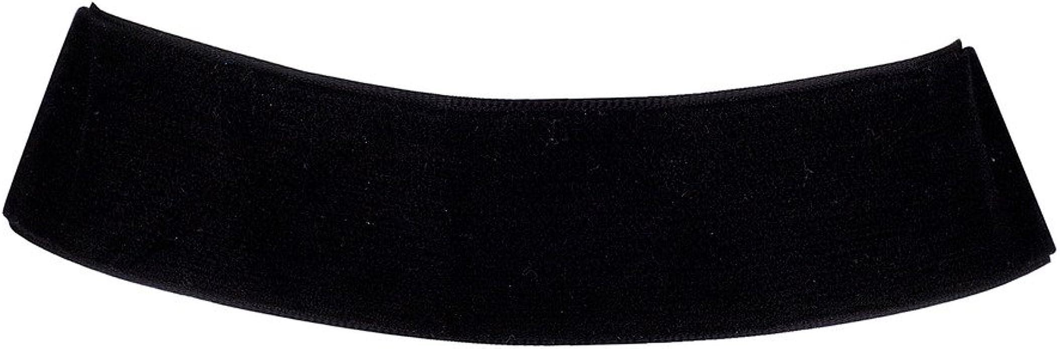 Lux Accessories Classic 90s Large Black Velvet Tie Collar Choker Necklace