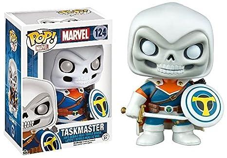 Marvel Taskmaster 124 Exclusive Bobble Head  sc 1 st  Amazon.com & Amazon.com: Funko Pop! Marvel Taskmaster 124 Exclusive Bobble Head ...