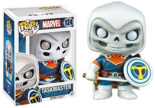 Funko Pop Marvel Taskmaster 124 Exclusive Bobble Head PDF00005601
