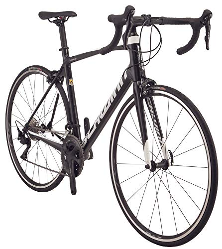 Schwinn Fastback Carbon 105 Performance Road Bike for Advanced to Expert Riders, Featuring 51cm/Medium Lightweight Carbon Fiber Frame and Shimano 105 22-Speed Drivetrain with 700c Wheels, Black