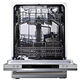 Cookology CBID600 Full Size Fully Integrated, Built-in Dishwasher | 60cm, 14 Place Setting