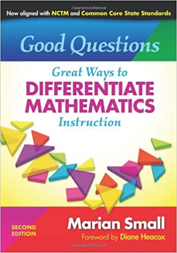 Amazon Good Questions Great Ways To Differentiate Mathematics