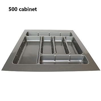 Chen0-super - Bandeja de plástico ABS para Cubiertos, Armario de Cocina, Palillos