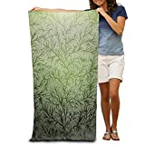 Super Absorbent Beach Towel Branches Wood Polyester Velvet Beach Towels 31.551.2 Inch
