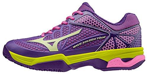 Jaune WOS Pansy Tour Mizuno Exceed Wave Womens Cc Viola Electric Tennisschuhe Violet Limepunch wRRU8qXO
