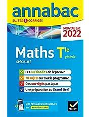 Annales du bac Annabac 2022 Maths Tle générale (spécialité): méthodes & sujets corrigés nouveau bac