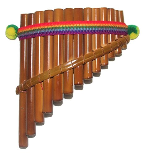 Beautiful Pipes Curved Pan Flute