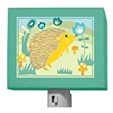 Oopsy Daisy A Through Z Animals Hedgehog Night Light, Green, 5'' x 4''