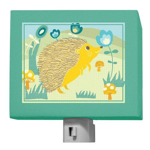 Oopsy Daisy A Through Z Animals Hedgehog Night Light, Green, 5