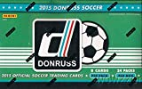 2015 Donruss Soccer HUGE 24 Pack Factory Sealed