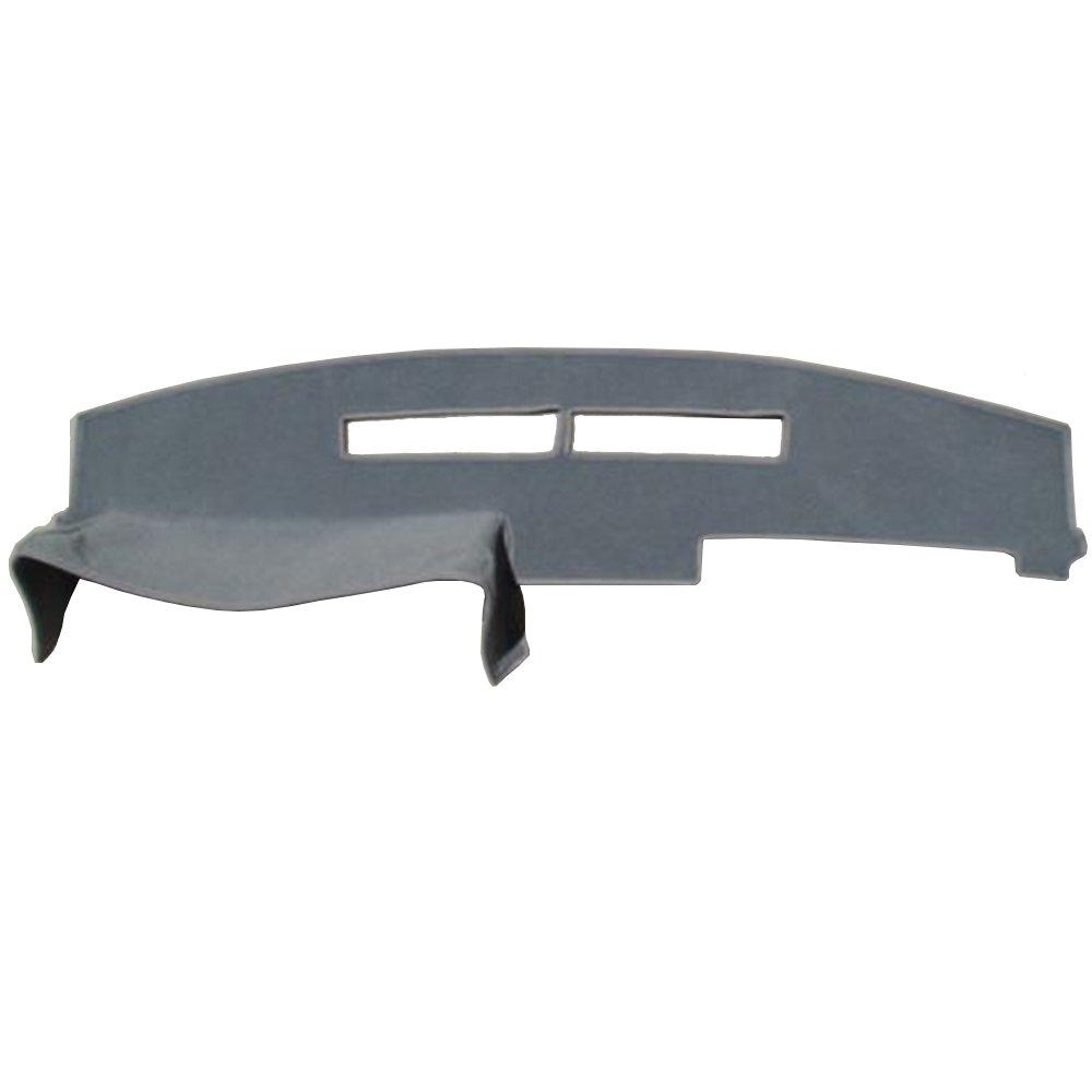 Hex Autoparts Dashboard Mat Dash Cover Carpet Gray for Chevy C1500 C2500 C3500 K1500 K2500 K3500 1988-1994