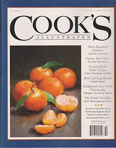 Cook's Illustrated January & February 2015 Slow Roasted Chicken, Tuscan Beef Stew; French-Style Pork Chops; NY Cheesecake; Stir-Fried Noodles; and more