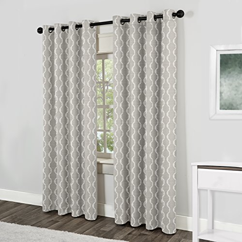 Exclusive Home Curtains Baroque Textured Linen Look
