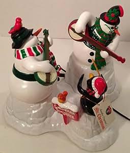 Dueling Banjo Snowmen-Two Animated Snowmen Playing 20 Great Christmas Carols