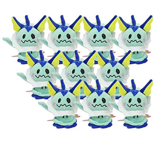 VIETCJ New 10Pcs Sylveon Eevee Umbreon Flareon Vaporeon Jolteon Espeon Cosplay Mimikyu 4