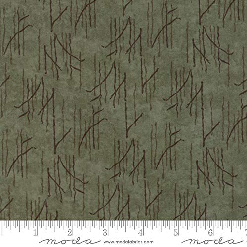 United Notions & Moda Fabrics Prairie Grass by Holly Taylor Quilt Fabric Grasses Dark Grass Style 6755/22