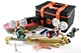 oxy cutting hoses - SÜA 25 Series Gas Welding & Cutting Kit Oxygen Torch Acetylene Welder Outfit
