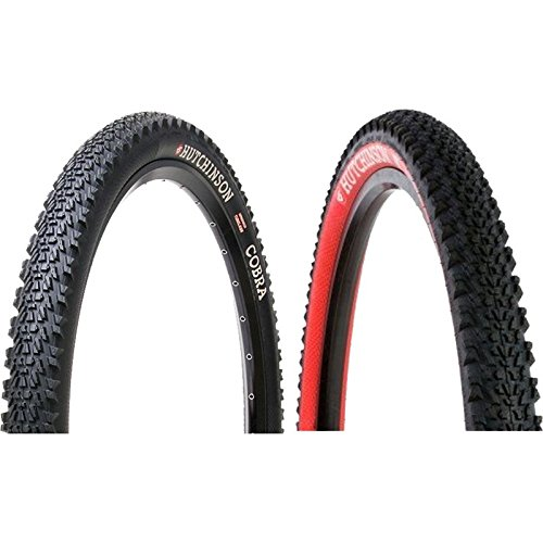 Hutchinson Cobra Tubeless Ready 26x2.10 Tire Red Sidewall