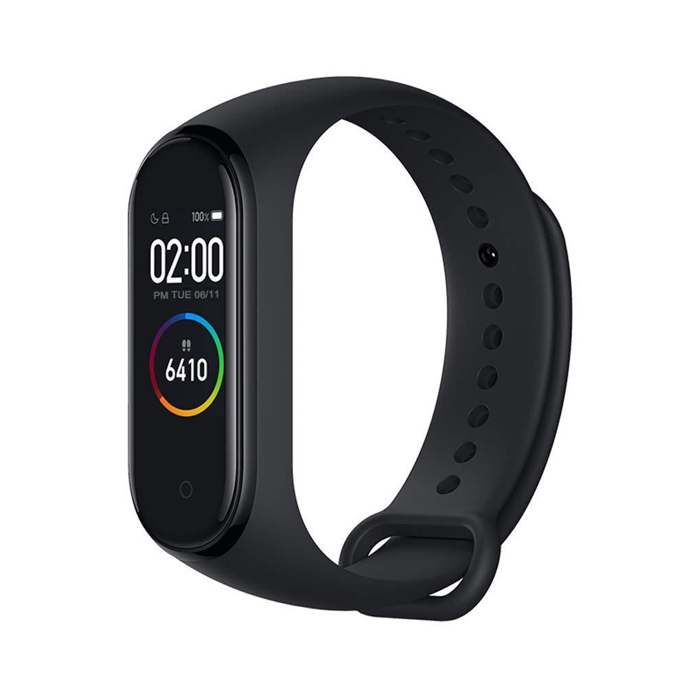 Mimoke Pour Xiaomi mi Band 4 Moniteur de fréquence Cardiaque Bracelet de Remise en Forme Intelligente écran 135 mAh Color Bluetooth 5.0 Date 2019(Noir) product image
