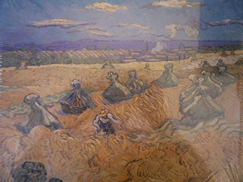 Battle Road Press The Wheat Field 500 Plus Piece Vincent Van Gogh Jigsaw Puzzle