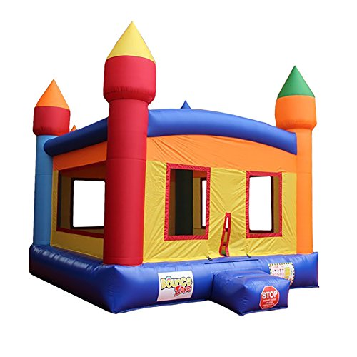 Photo Inflatable Jumper Castle Commercial Bounce House with Blower Kids Bouncer