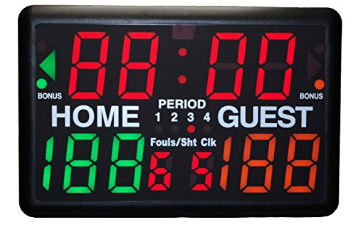 Trigon Sports Multi-Sport Indoor Tabletop Scoreboard & Timer
