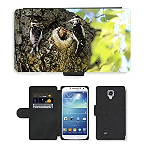 hello-mobile PU LEATHER case coque housse smartphone Flip bag Cover protection // M00137455 Carpintero Hombre Mujer anidamiento // Samsung Galaxy S4 S IV SIV i9500