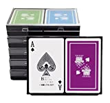 Barclay Bridge Size Playing Cards - Double Boxed Cards - 12 Decks