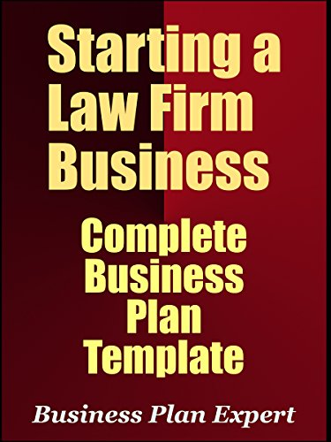 Amazon starting a law firm business complete business plan starting a law firm business complete business plan template including 10 free gifts fbccfo Images