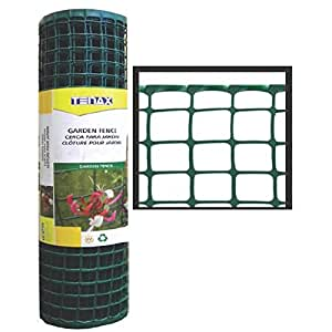 Tenax Corporation 2A060090 Garden Fence-2X25 GREEN GARDEN FENCE