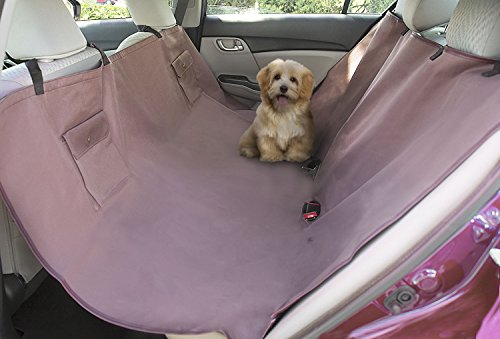 MEGALOVEMART Hammock Style Waterproof Dog Car Seat Cover for Trucks, SUV, Family Van, Sedan (Set Rear Mat Heavyweight)