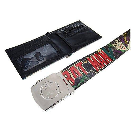 Set Da Regalo Cintura & Portafoglio Batman