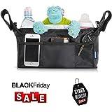 CYBER MONDAY SALE 3Niner Stroller Organizer Accessories Bag - Free Gift Removable Shoulder Strap. Fit handles 13
