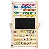 Clearance Sale!DEESEE(TM)Wooden Educational Kids Blackboard Game Numbers Learning Creative 3 In 1 Toy
