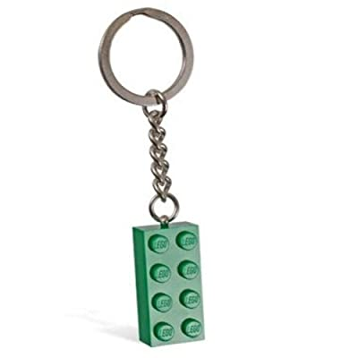 LEGO Green Brick Key Chain by Creator: Toys & Games [5Bkhe0904945]